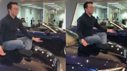 南京奥迪男车主引擎盖维权:要求4S店退一赔三