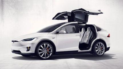 特斯拉召回3183辆2016年款Model X