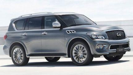 高田安全气囊问题 日产中国召回2075辆2011年款进口英菲尼迪QX80